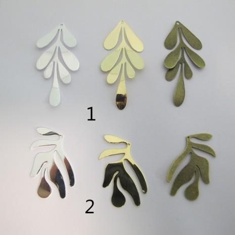 10 pendenti feuille