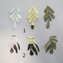 10 pendentif feuille