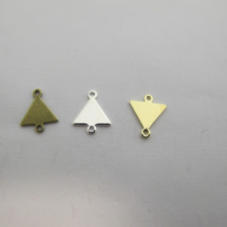 60 INTERCALAIRES TRIANGLES 12x10mm