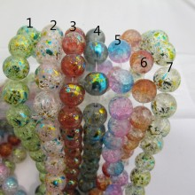 Glass beads 8MM and 14MM