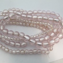 MURANO GLASS BEADS PINK COLOR