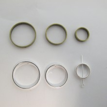 Spacers round 2 holes 15mm/22mm/26mm