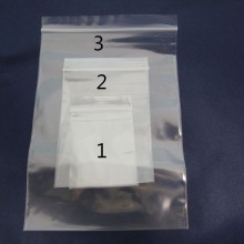 Sac plastique zip 4x6cm/6x9cm/10x15cm
