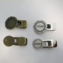 10 Hair clip holder 64x31mm/64x38mm