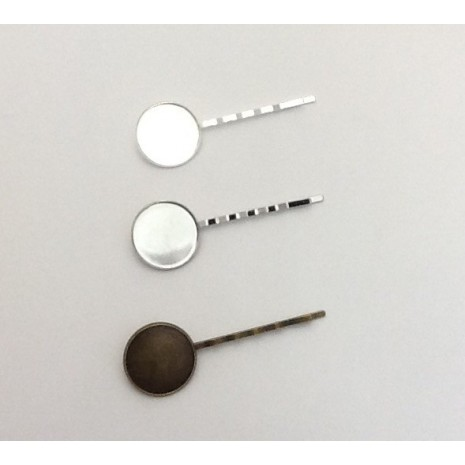 Support de barrettes 64x20mm pour cabochons de 20mm