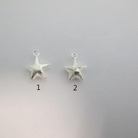 20 Pendentif étoile 18X14MM/17X13MM