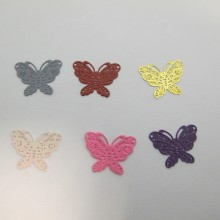 100 Butterfly stamps 20x15mm