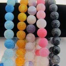 perles en verre 10mm
