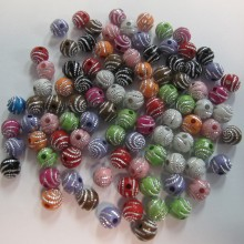 Synthetic bead 8mm 125gm