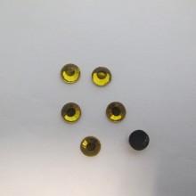 80 GM Strass thermocollant Hotfix perle à repasser jaune topaz