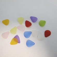 125 gm Plastic beads 17x14mm