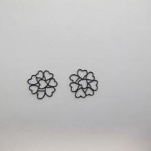 50  Estampe coeur laser cut 11mm