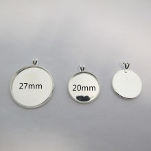 20 Pendant Holders For 20mm/27mm Cachons