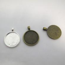 20 Support pendentif Pour Cachons De 20mm