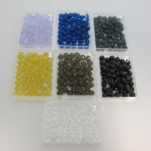Glass Beads Faceted Bohemian 6mm single