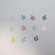 100 Estampes Étoile 11x10mm