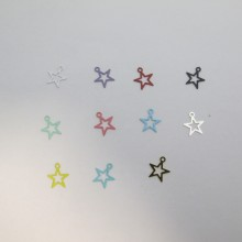 100 Star Stamps 11x10mm