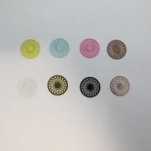 100 Estampes Rondes Laser Cut 14mm