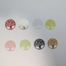 40 Estampe intercalaires Arbre de vie laser cut 20mm