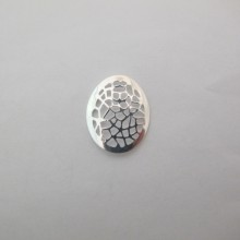 50 Oval stamp 23x19mm