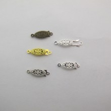 100 Clasps 20x7mm