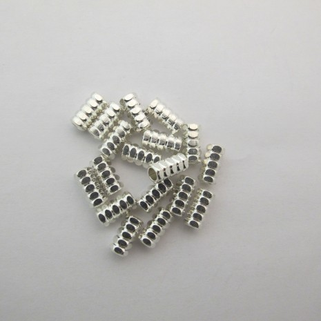 50 perles 11x5mm trou 3.5mm