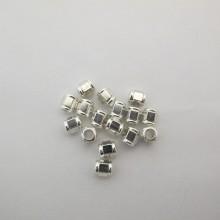 50 perles 7x6mm trou 4.0mm