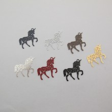 50 Unicorn stamps 27x17mm