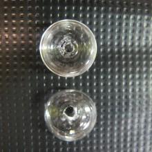 20 Glass ball blown 16x10mm dome
