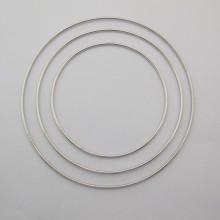 10 cercles en fer