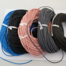 50mts Round leather cord 2mm