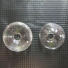 20 Boule en verre soufflé 27x16mm dôme
