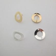 10 pcs Earrings round 18mm
