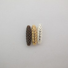 30 pcs Watermarked beads 19x5mm