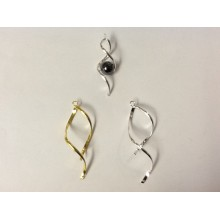 Earring or pendant clasps 45mm or 55mm
