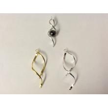 Bélières boucle d'oreille ou pendentif 45mm ou 55mm