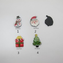 20 pcs Sequins Resin Christmas series