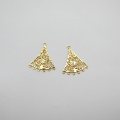 10 chandelier avec 6 anneaux
