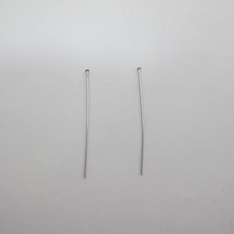 1000 pieces Clou tête plate en Acier inox 4cm