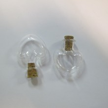 20 Fiole en verre 26x23mm