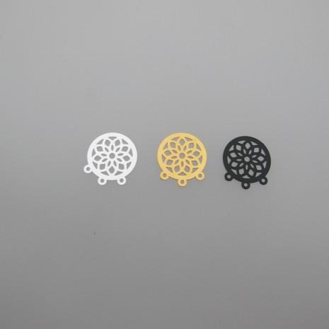 100 estampes filigrane 16x15mm