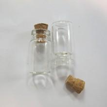 50 Glass vial 24x13mm