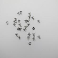160 pieces Poussoir en acier inox 6x4mm