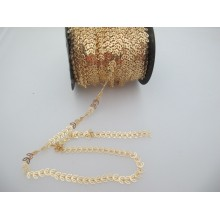 1 METER OF 7X6mm THREADED PPE CHAIN