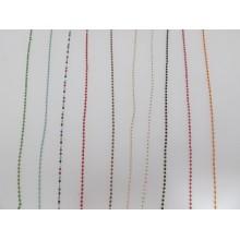 1 mts Chain bead tube 2x1.5mm