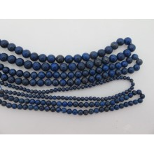 Lapis lazuli ab round- Thread of 40cm
