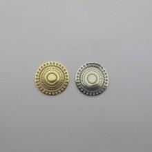 20 pcs Estampe ronde 28mm