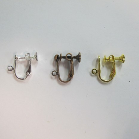 50 pieces Clips avec anneau