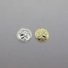30 pcs Sequins coin round 20mm