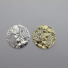 10 pcs pendentif rond 40mm